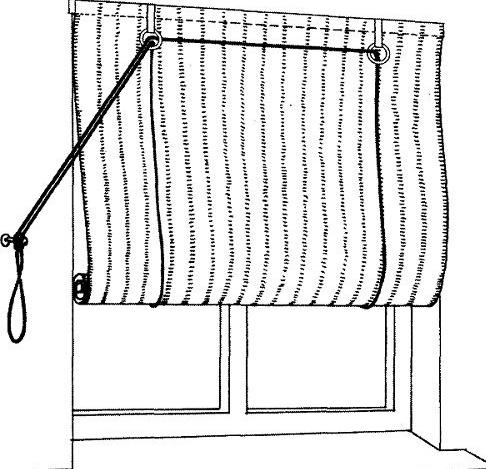 Как сшить рулонную штору своими руками для начинающих